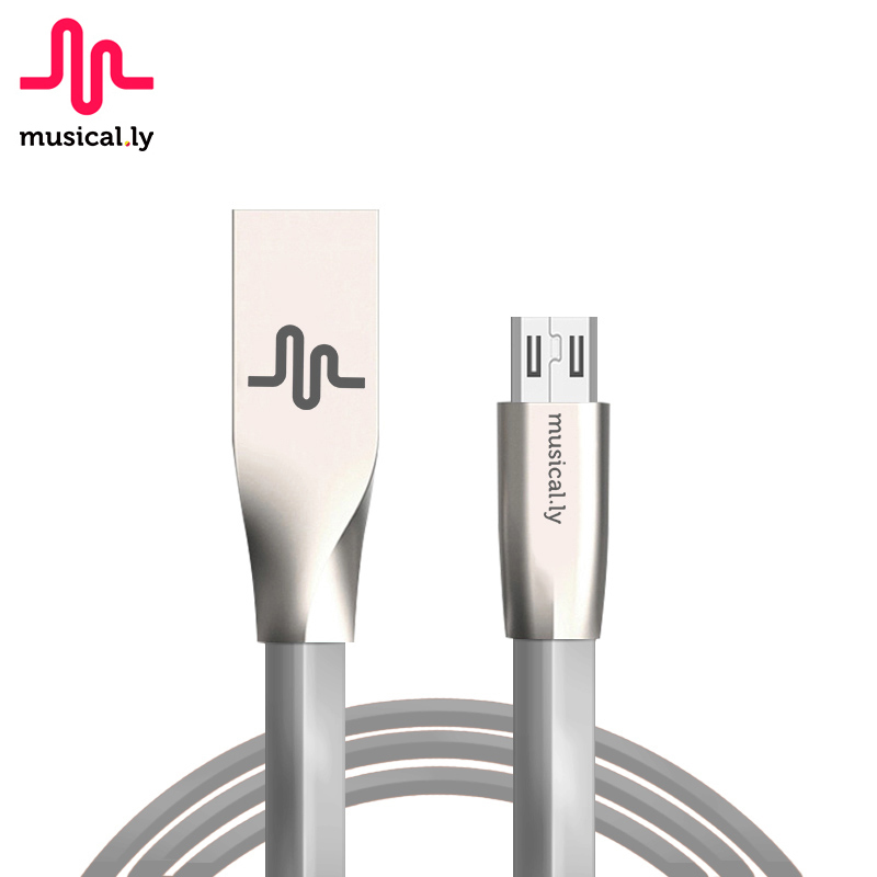 musical.ly Mobile Phone Data Cable Micro USB Cable 2A Fast Charge USB Cable For Xiaomi Samsung Huawei Tablet Android OnePlus