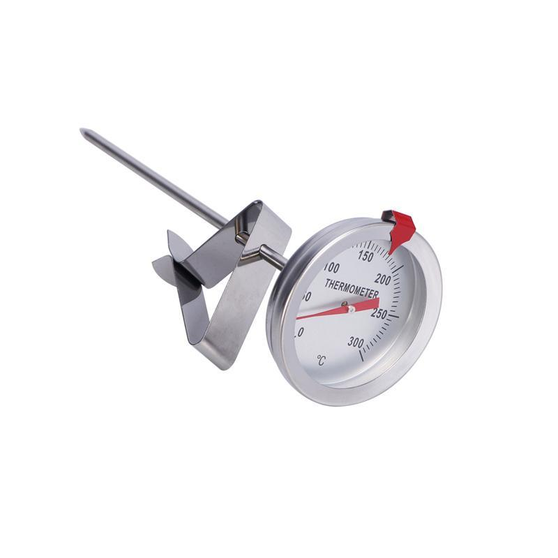 1Pc Deep Fry Thermometer Candy Sugar Frying Probe Thermometer for Cooking 150mm