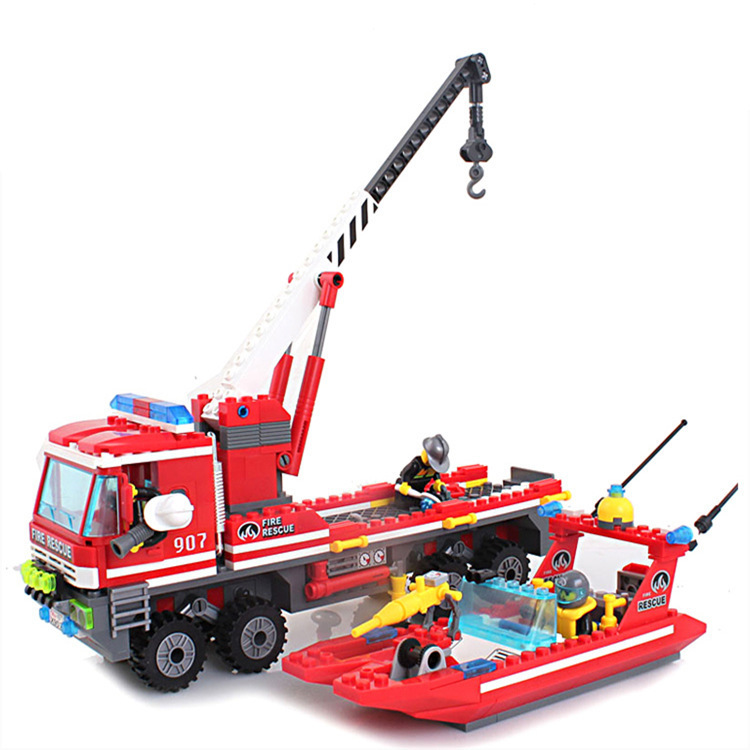 model building kits compatible with lego city fire 1037 3D blocks Educational model & building toys hobbies for children lepin 02012 city deepwater exploration vessel 60095 building blocks policeman toys children compatible with lego gift kid sets