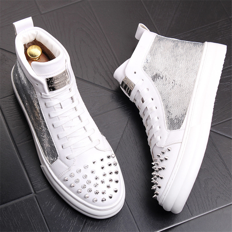 Mens Boots New Fashion High Top Shoes Retro Motorcycle Boots Men Lace-up Waterproof Footwear Zipper Rome 6#20D50Mens Boots New Fashion High Top Shoes Retro Motorcycle Boots Men Lace-up Waterproof Footwear Zipper Rome 6#20D50
