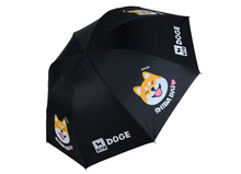 Anime funny doge Mental pollution japan Shiba Inu Daily Folding Umbrella Cute Cosplay Collection