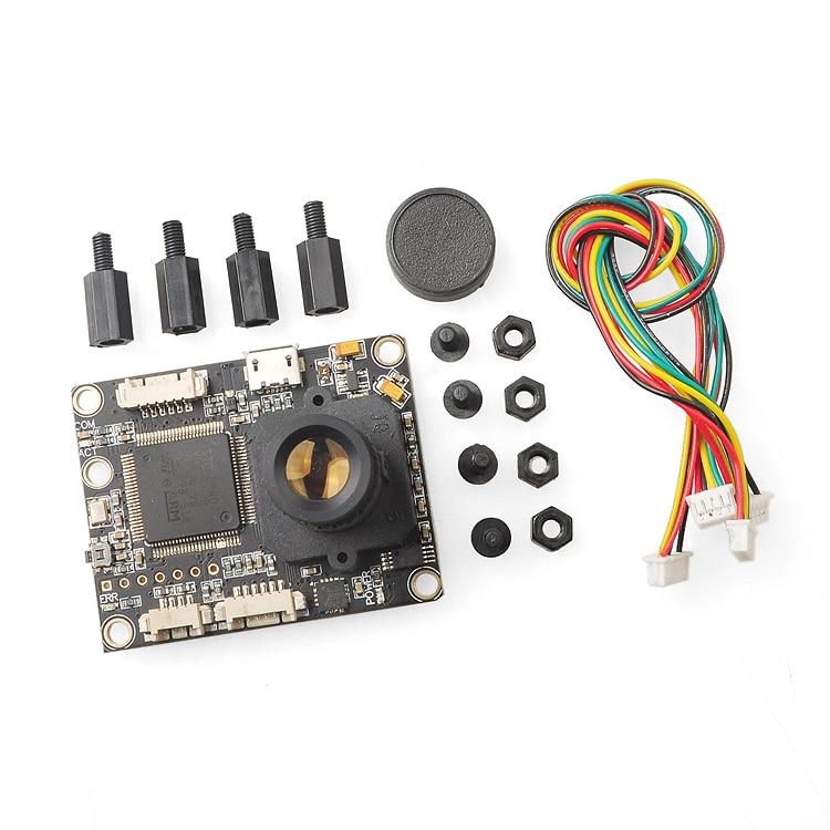 F18515 / 7 PX4FLOW V1.3.1 Сензор за оптичен поток Интелигентна камера с MB1043 Ултразвуков модул Sonar за PX4 PIX Система за управление на полета