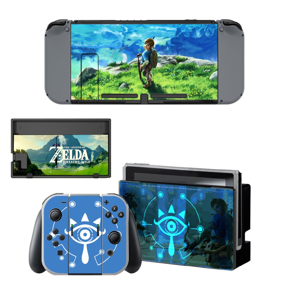 Zelda-Skin-Sticker Skins Controllers Vinyl Nintend-Switch Console Legend The of for Joy-Con