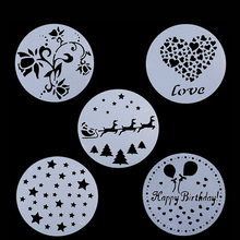 Plastic Cake Stencil Cookie Fondant Tool Decoration for Wedding Flower Mold  Candy
