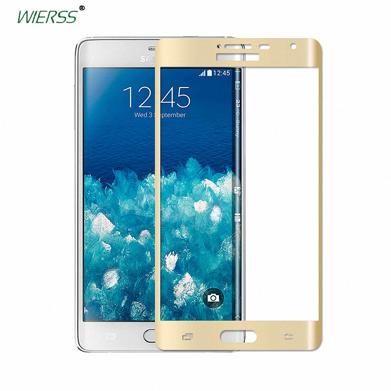 3D 9H Full Coverage tempered Glass Screen Protector For Samsung Galaxy Note Edge/<font><b>N915</b></font> N9150 N915FY N915A 5.6