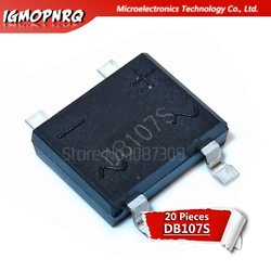 20pcs DB107S DB107 2A 1000V Bridge Rectifiers 1A 1000V new original