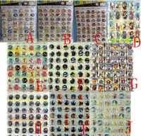 New 10sets (48 pcs/set) Cartoon Mix Badge Button Pins Party Gifts Diameter 3 cm Free Shipping ZS 27