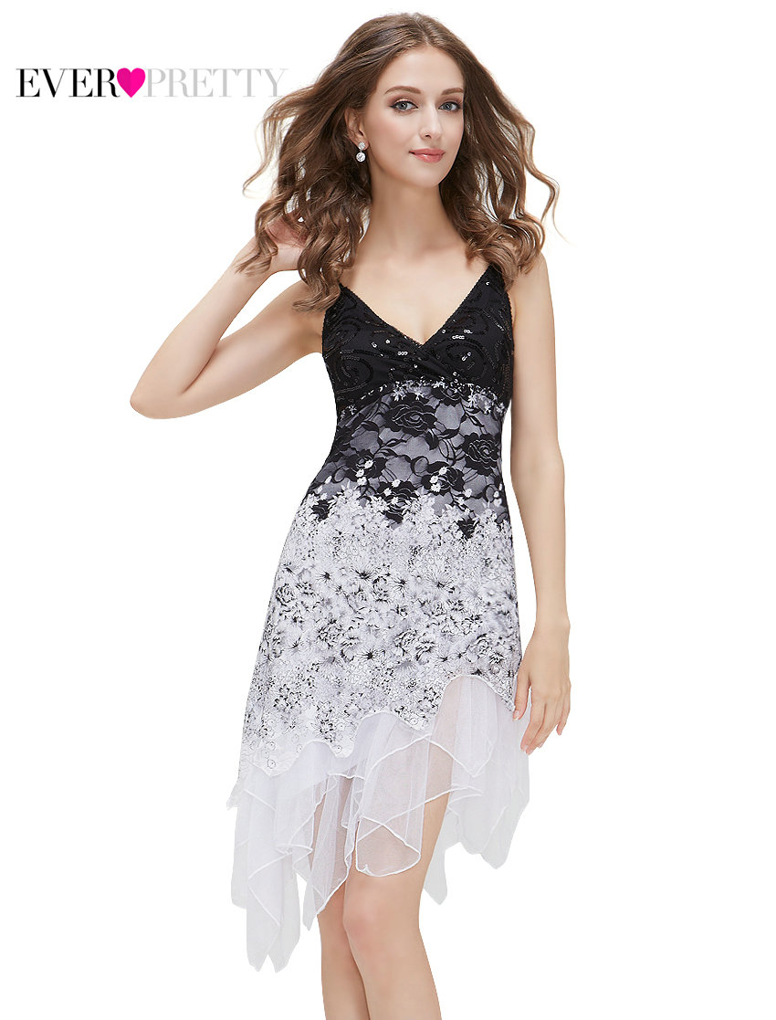 Clearance Sale Cocktail Dresses Ever Pretty Summer Styles Hot Sexy Knee Length Lace -9034