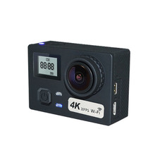 AT-N460 4K 170 Degree Wide Angle Ultra HD WiFi Gyro Anti Shake FPV Action Camera Cam With Remote Control RC Toy Models