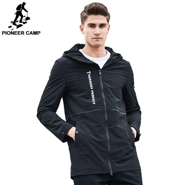 Pioneer Camp Neue frühlingsmode marke jacke männer windjacke hoodie mantel männlichen  top-qualität outwear beiläufige b8d6898052
