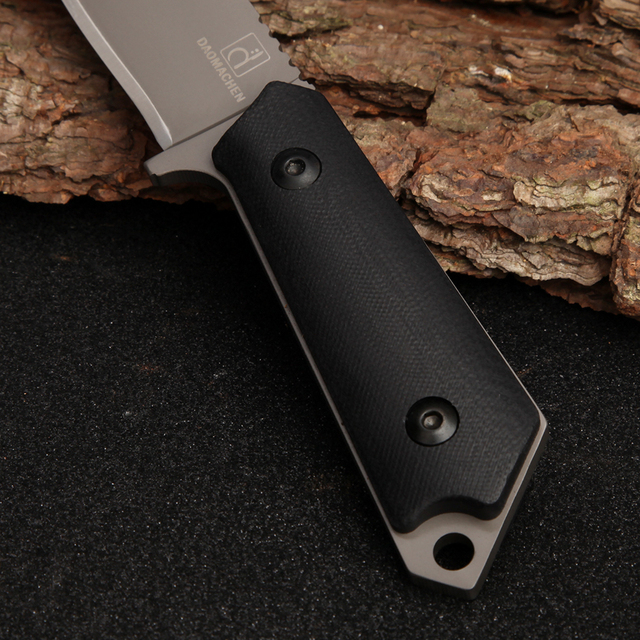 DAOMACHEN High Carbon Steel Outdoor Tactical Knife Survival Camping Tools Collection Hunting Knives With Imported K sheath 3