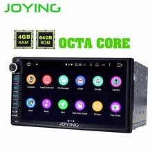 """JOYING 2 Din Android 8.1.0 Car Stereo Autoradio 7 """"4 GB di RAM 64 GB ROM Octa Core HD dello schermo cassette Radio carplay DSP video di uscita"""