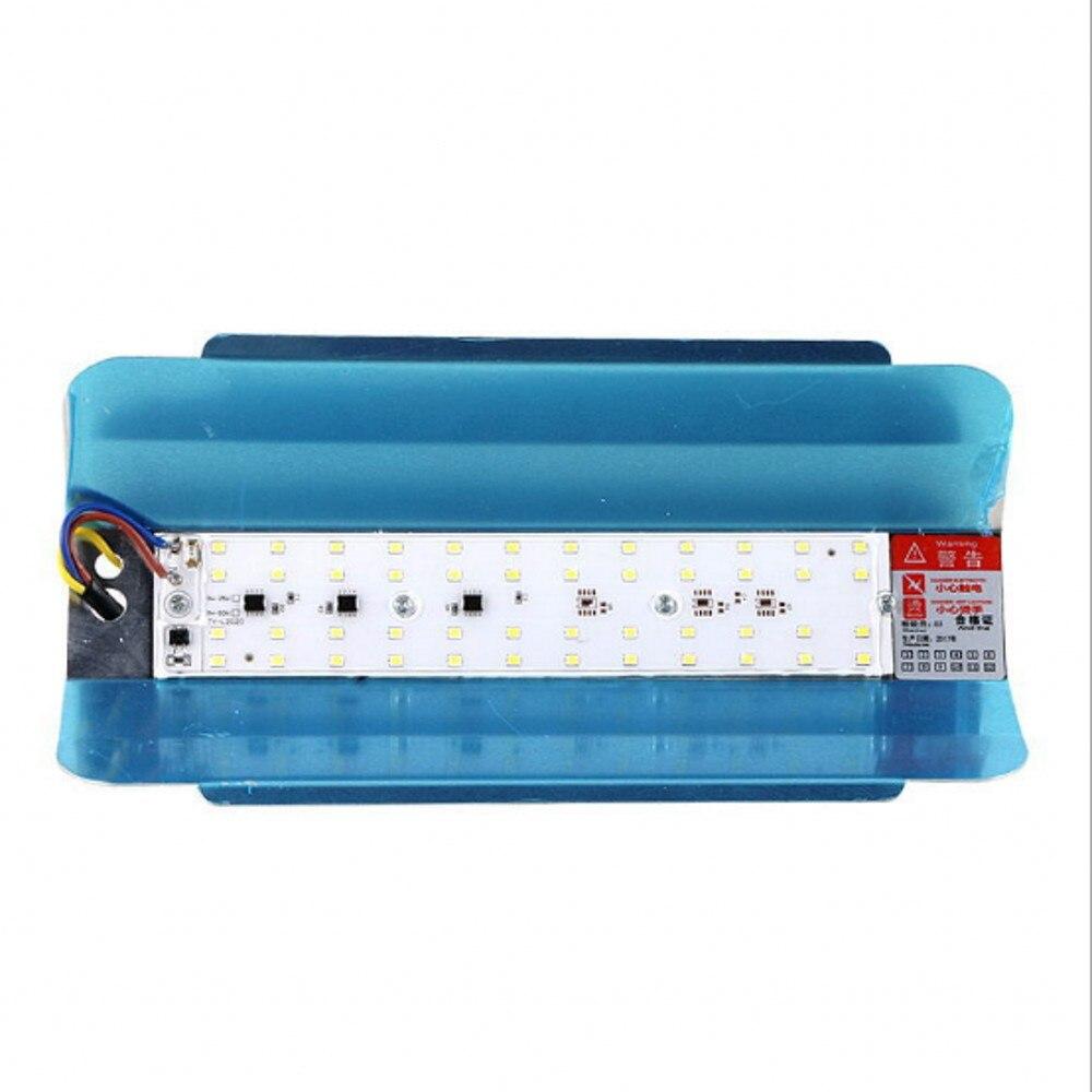 XUNATA LED IODE TUNGSTÈNE Spotlight 50 W 100 W Projecteur 220 V LED Refletor économie D'énergie Éclairage Extérieur Jardin Lampe