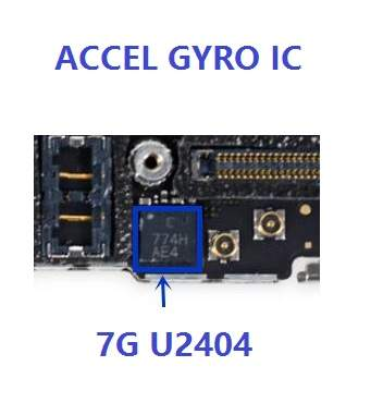 US $15 0 |U2404 for iPhone 7 plus 7Plus Gyro Gyroscope Accelerometer ic  chip ACCEL & GYRO MPU 6900, lot of 5 pcs-in Connectors from Lights &  Lighting