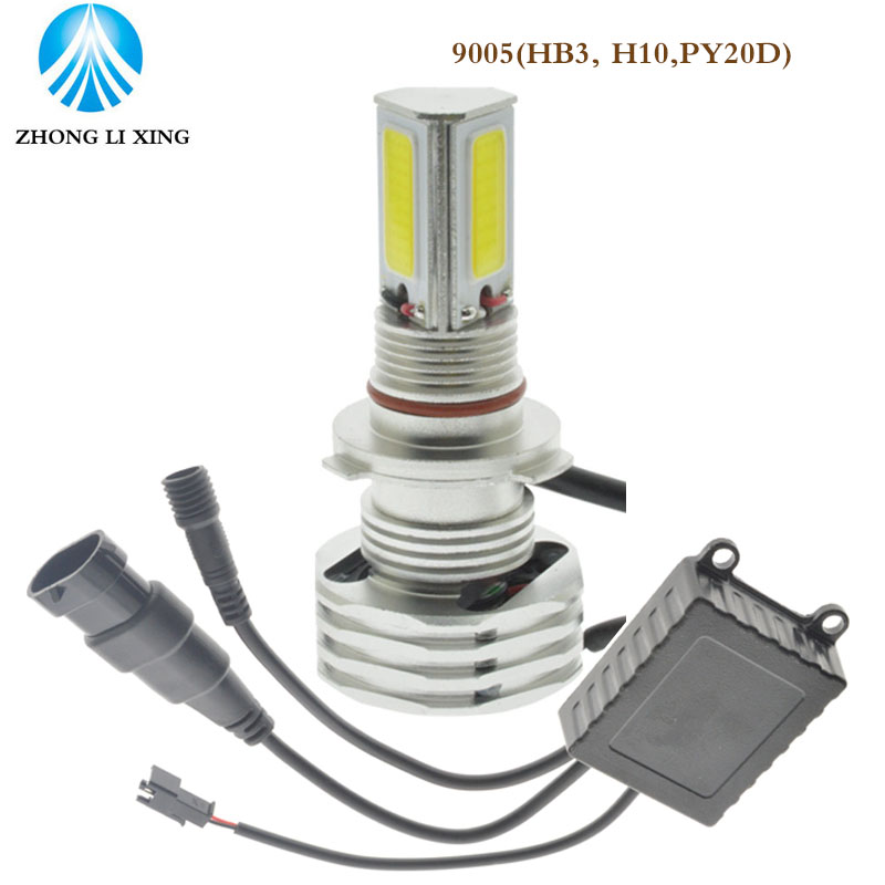 1x 9005/HB3 9006/HB4 9008 Car LED Headlight 90W 9000LM COB 12V-30V High/Low Beam Headlamp 6000K Replace Xenon Light 12v led light auto headlamp h1 h3 h7 9005 9004 9007 h4 h15 car led headlight bulb 30w high single dual beam white light