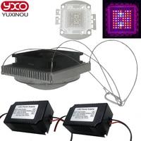 DIY 200W Led Grow Light , 8 band full spectrum led grow chip , easy assemble , most high efficiency led grow light