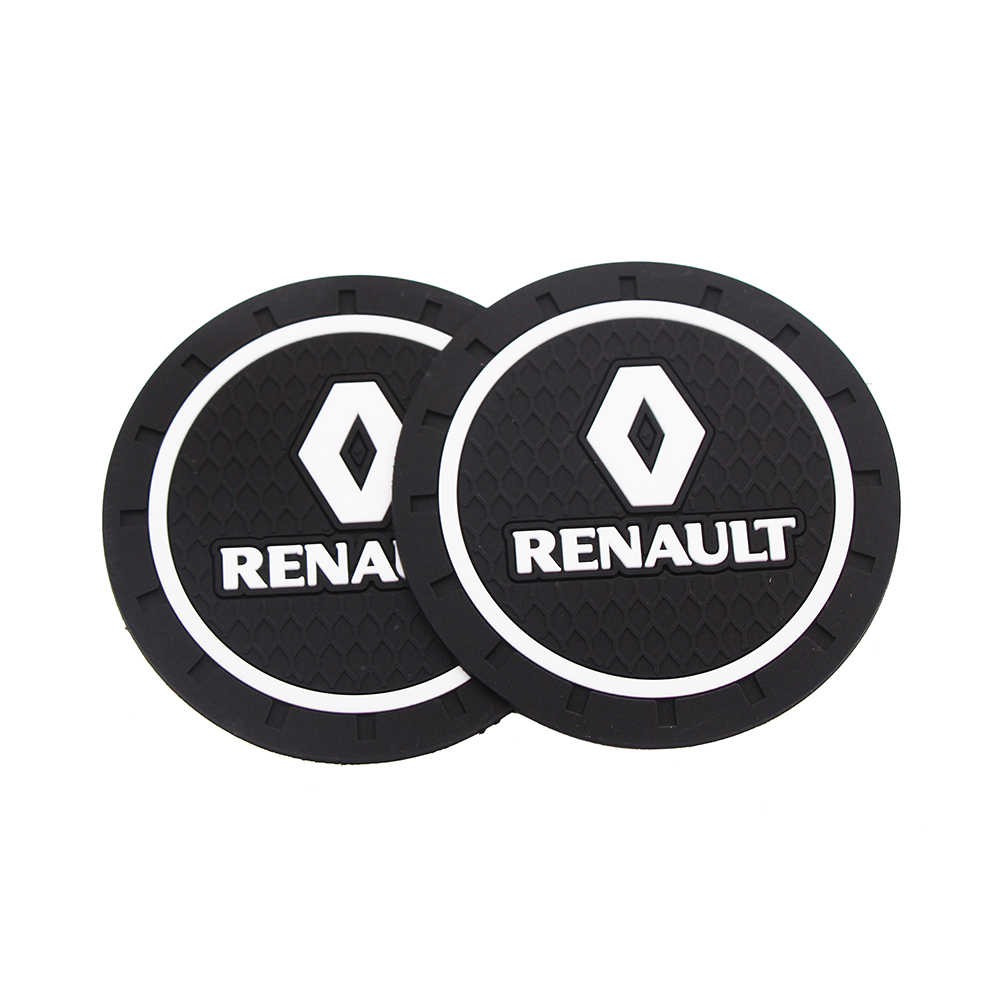 Image 3 - Fashion Car Coaster Silicone Epoxy Coaster Car Decoration For Alpha Opel Renault KIA BMW Benz Audi VW Honda Nissan Toyota Etc-in Anti-Slip Mat from Automobiles & Motorcycles