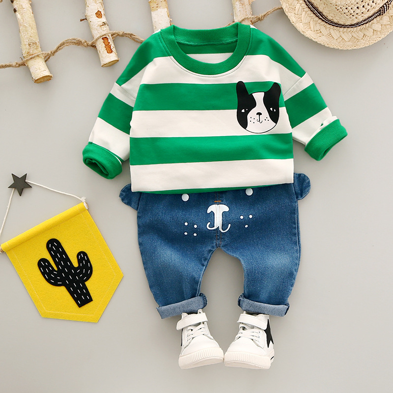 Baby Girls/boys Clothing Sets Children Kids Sport Suits Tracksuits Cotton Long Sleeve T-Shirt + Pants 2pcs spring newborn suits new fashion baby boys girls brand suits children sports jacket pants 2pcs sets children tracksuits