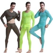 New Aibc men's underwear home set viscose long johns tight sexy underwear fashion high-elastic long johns