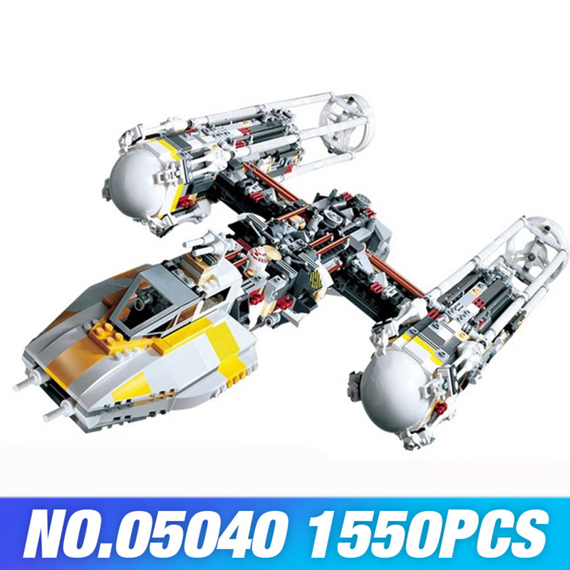 Building Blocks Star Wars 05143 05040 Compatible 75181 10134 Y-wing Starfighter Set DIY Toys Bricks LEPIN star war figure set