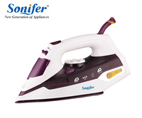 2200W Colorful Portable Electric Steam Iron For Clothes 220V Three Gears Ceramic Soleplate Sonifer