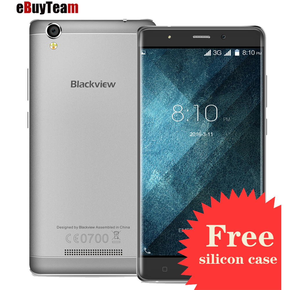 Original Blackview A8 Smartphone MTK6580 Android 5 1 5 0 inch IPS HD Quad Core font