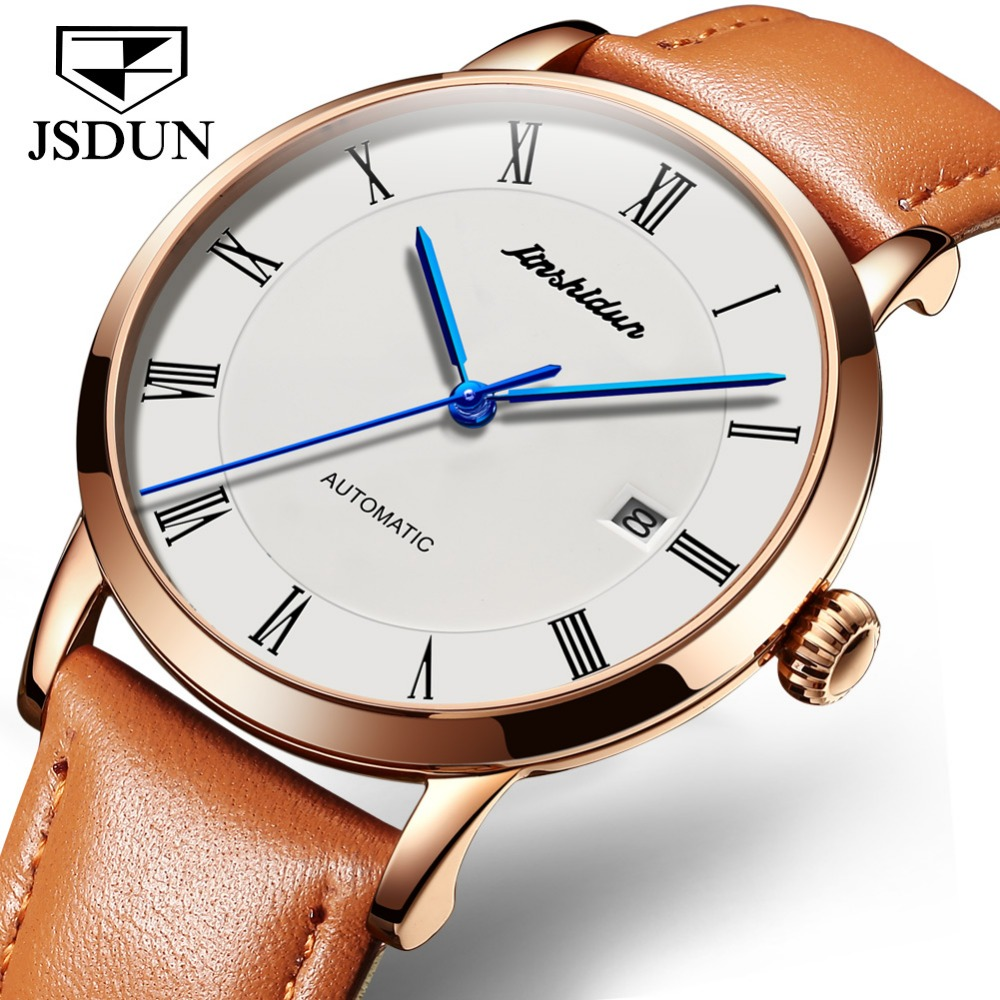JSDUN Mens Watches Top Brand Luxury Sapphire Waterproof Watches Men Automatic Mechanical Wrist Watches Relojes hombre 2019JSDUN Mens Watches Top Brand Luxury Sapphire Waterproof Watches Men Automatic Mechanical Wrist Watches Relojes hombre 2019