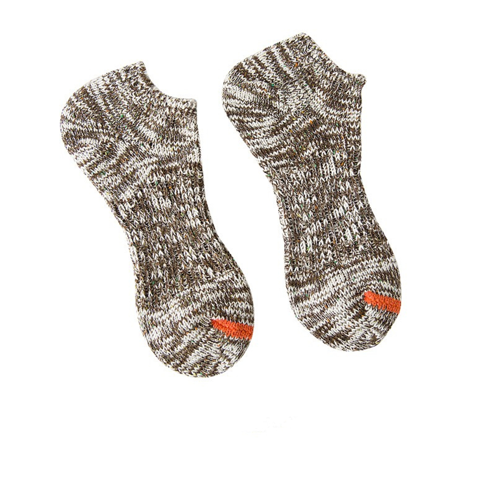 Spring summer men 39 s cotton thick line low to help socks Harajuku personality national wind male wool invisible socks boat socks in Men 39 s Socks from Underwear amp Sleepwears