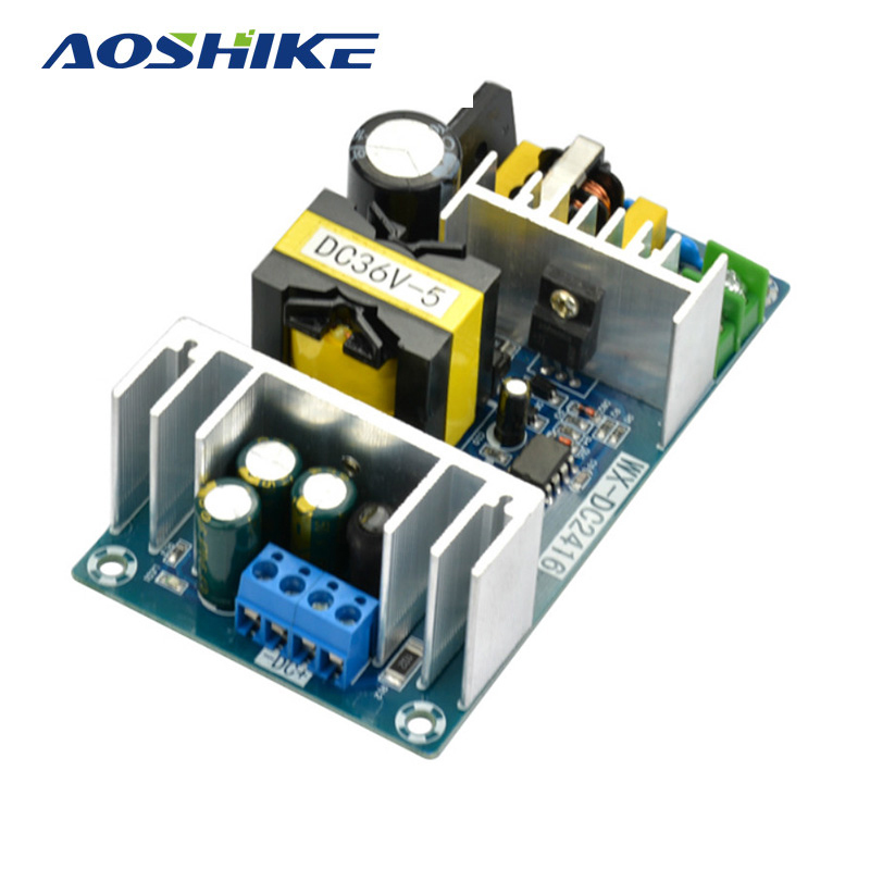 Aoshike 36V 180W AC-DC Switching Power Supply Board High Power Industrial Power Supply Module 1pcs 36v 180w ac dc switching power supply board high power industrial power supply module