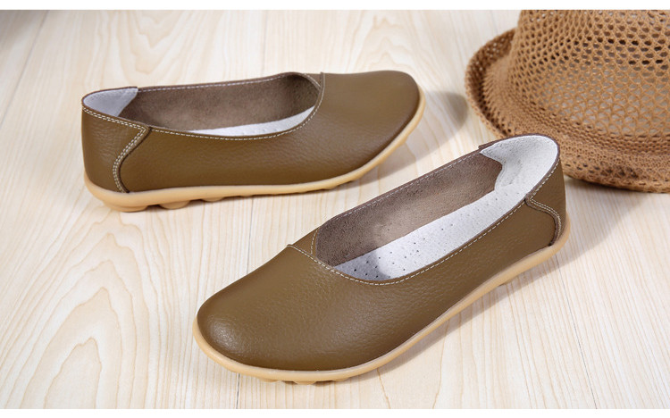 AH 5928-2019 Spring Autumn Woman Flats Casual Women Loafers-22