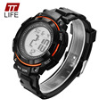 TTLIFE Children Watches 50M Waterproof Casual Digital LED Sport Back Light Wrist Watch Alarm Fashion Quality Gifts for Kids 2016