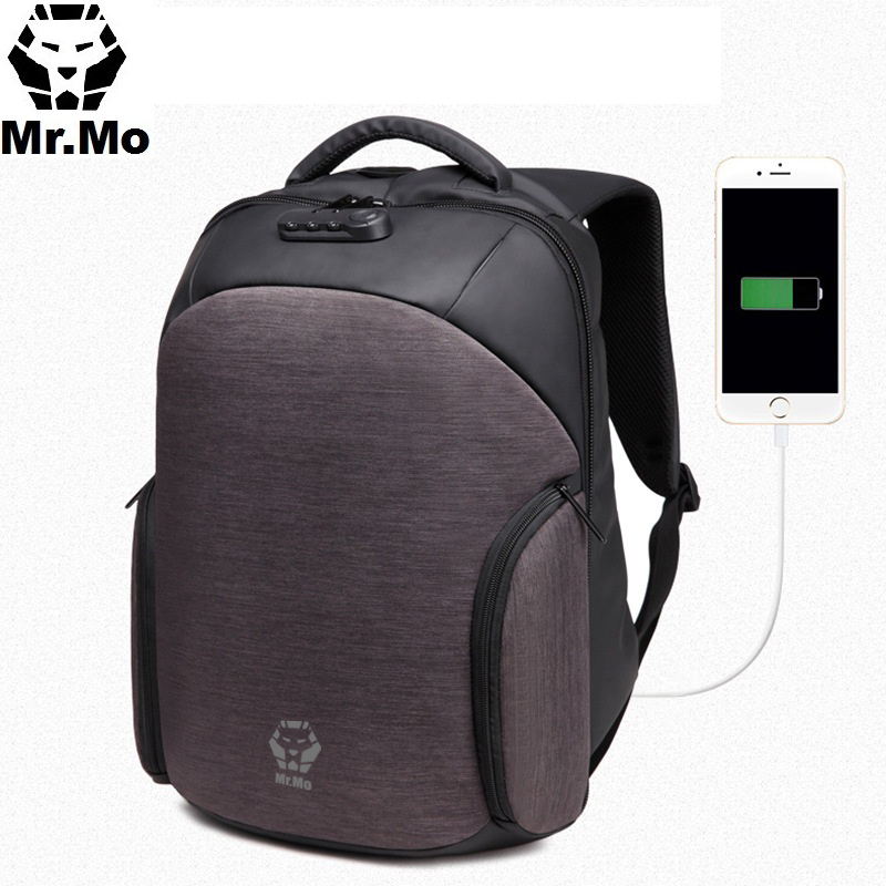 New Bookbags For School Fashion Laptop Backpack Men Anti theft Lock Bagpack Design Luxury Waterproof Oxford Backpack For School men backpack anti theft multifunctional oxford fashion college student school backpack password lock laptop computer bag