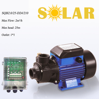 SQB2.0/25 D24/210 surface well water pump solar surface solar pump 24 v high pressure dc power 24v water surface solar pump