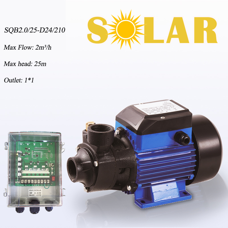 SQB2.0/25-D24/210 surface well water pump solar surface solar pump 24 v high pressure dc power 24v water surface solar pump centrifugal pump surface kraton wp 800p