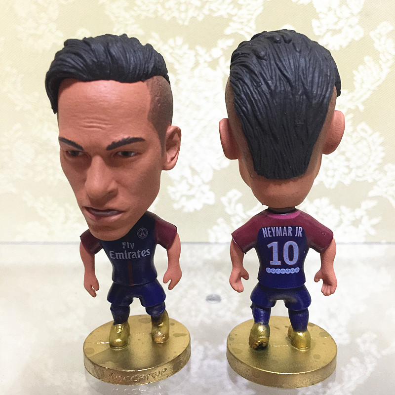 Soccerwe 6.5 cm Height Resin Football Star Doll Paris ...
