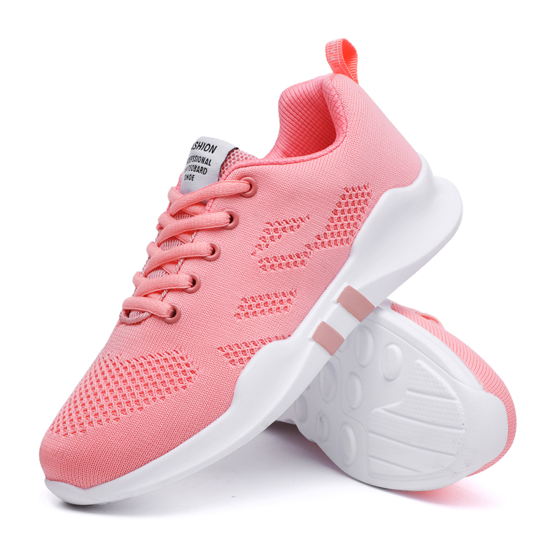 Ultra Light Running Shoes For Women Mesh Sneakers Sport Shoes Ladies 2019 Breathable Jogging Fitness Sneakers All Match Casual(China)
