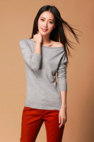 Hot Sale Fashion Spring Autumn Winter Cashmere WoolThe Knitted Jacquard Sweater Women 2015 Woman O Neck