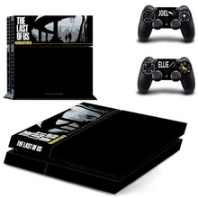 The Last of US Remastered PS4 Skin Sticker Decal For PlayStation 4 Console and 2 Controllers PS4 Skin Vinyl Stickers