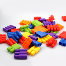 Youwant Toy 45Pcs DIY Educational Brain Toys Creative Toy Building Blocks ABS Material For Children Animals Blocks 220pcs set super magnetic building blocks 3d diy brain training abs plastic magnets educational toy deluxe miracle brain sets