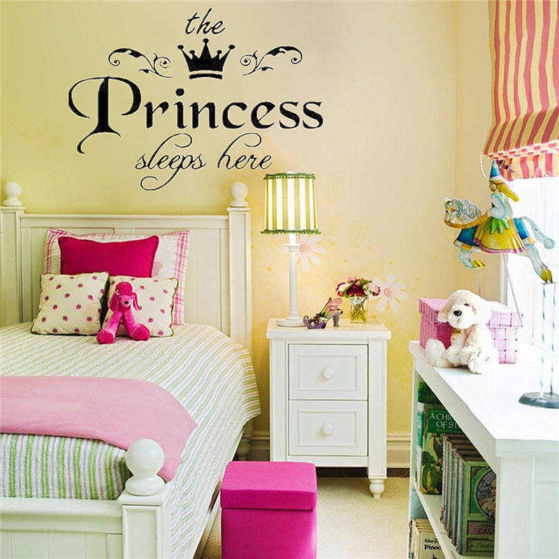 HTB1jyxwKpXXXXa XVXXq6xXFXXXr - New Arrival DIY Removable Princess Sleeps Wall Stickers For Kids Rooms