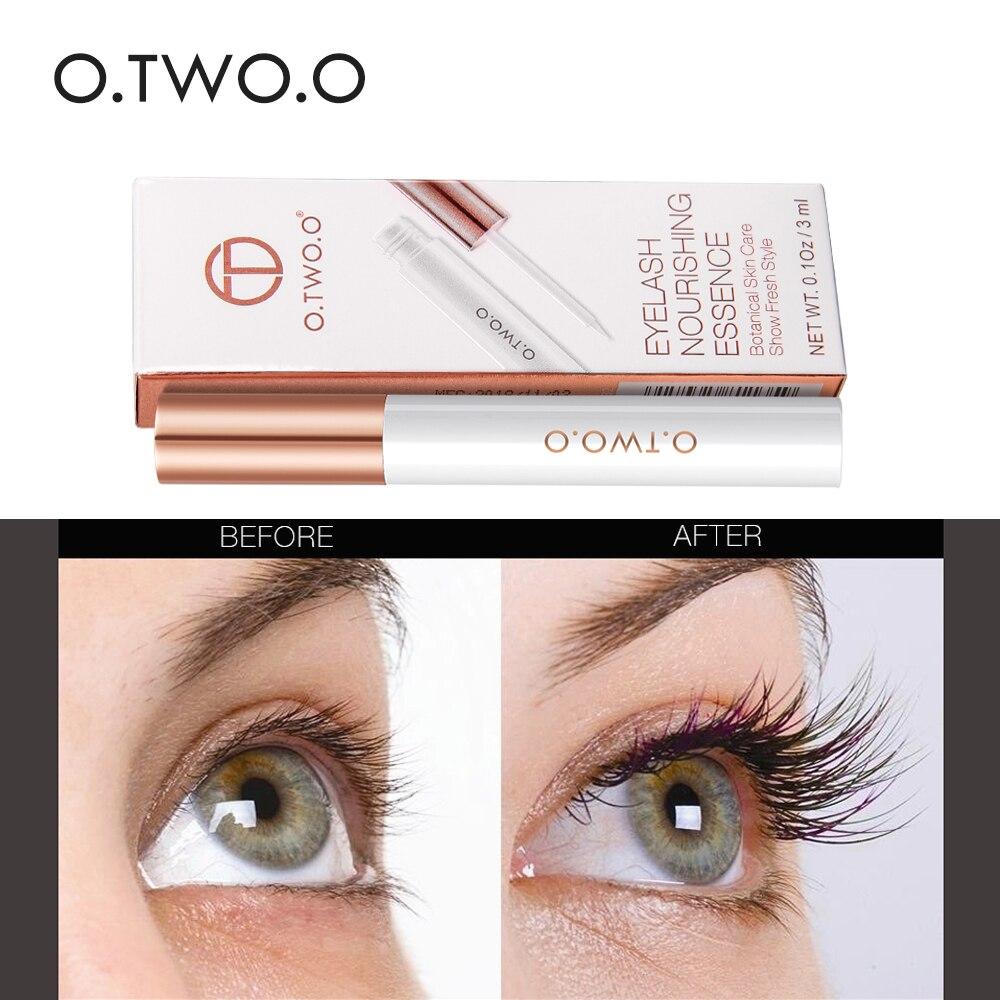 O.TWO.O Natural Eyelash Growth Treatments Eyelashes Enhancer Lengthening Thicker Serum Moisturizing Eye Lash Nourishing Essence