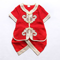 Short Sleeve Cotton New Year Clothing Sets for 0-6 Years Boys Children Exquisite Embroidery Chinese Summer Children Tang Suits