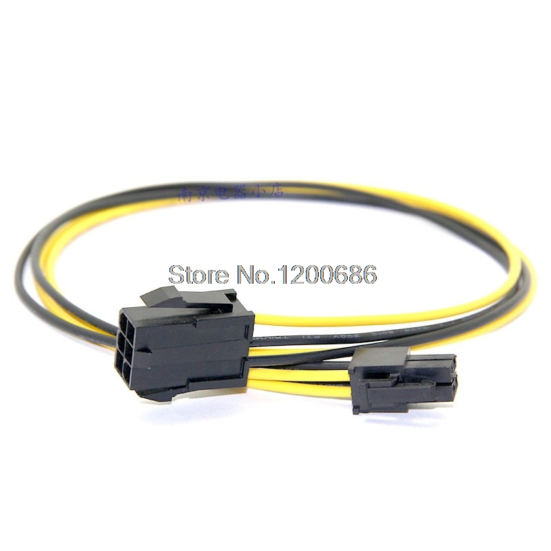 Graphics card 6pin to 4 Pin CPU Power Supply wire harness-in Wiring ...
