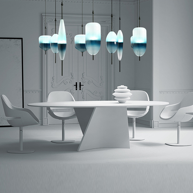 Postmodern Gradient Pendant Lights