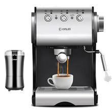 20Bar High Pressure Extraction 2 Layer Espresso Coffee Maker Coffee Filter Powerful Automatic Electric Italian Coffee Machine недорого