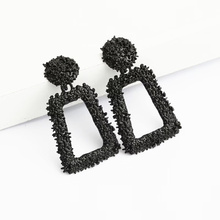 ZCHLGR small Vintage Earrings for women gold color Geometric statement earring metal earing Hanging fashion jewelry trend
