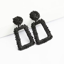 ZCHLGR small Vintage Earrings for women gold color Geometric statement earring metal earing Hanging fashion jewelry trend(China)