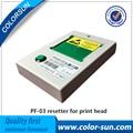 Novo pf-03 pf 03 redefinição do cabeçote de impressão para canon ipf500 ipf 600 700 810 815 820 Resetter iPF5000 6000 S 8000 9000 Cabeça De Impressão