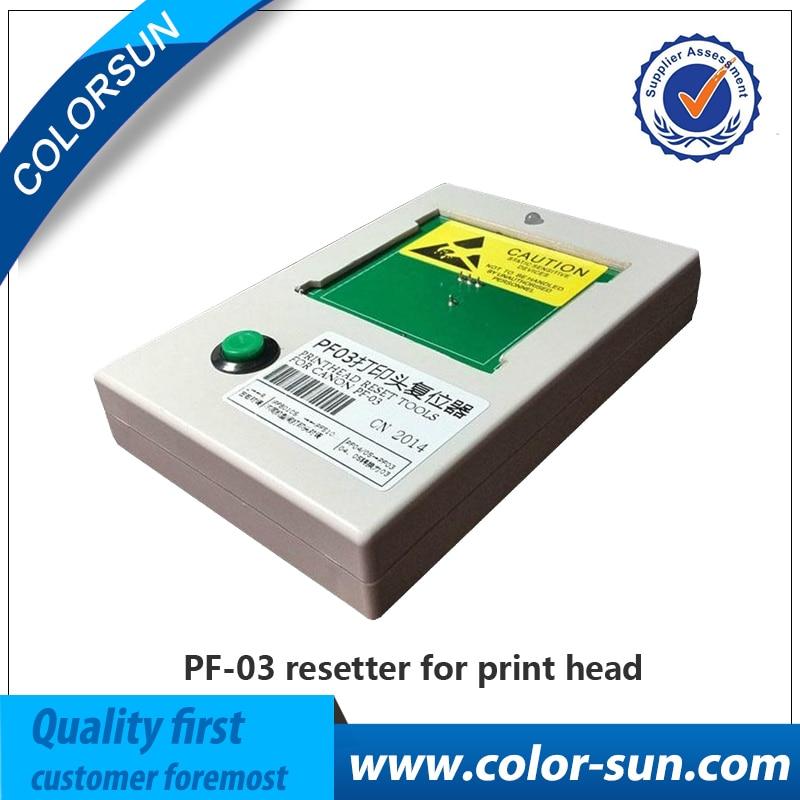 PF 03 PF03 Printhead Resetter For Canon IPF500 IPF510 IPF600 IPF605 IPF610 IPF710 IPF720 IPF810 for