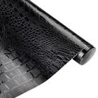 50*152cm Crocodile Pattern Leather Vinyl Film Waterproof PVC Car Body DIY Wrapping Sticker Auto Interior Decoration Decal Wrap